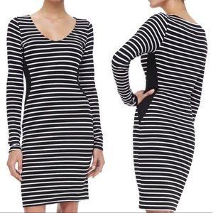 Velvet Graham & Spencer Black&White Striped Dress